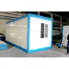 Steel Frame Foldable Container House