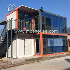 Two Story Prefabricated Living Container House